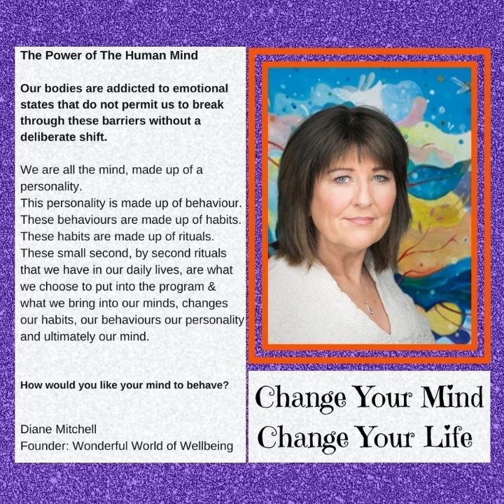 Change Your Mind – Change Your Life with Diane Mitchell