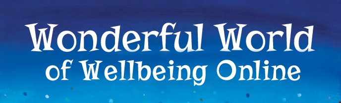 Wonderful World of Wellbeing Online Logo