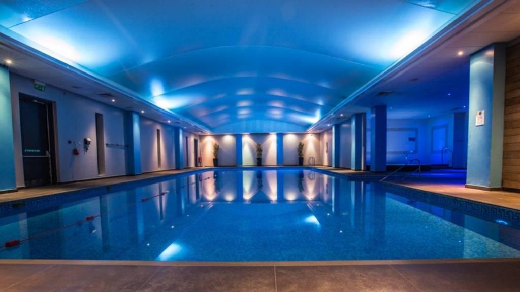 The Thames Club pool area -Wonderful World of Wellbeing