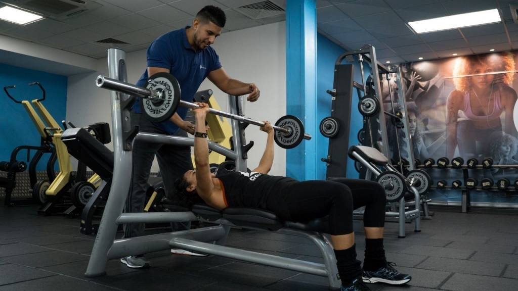 The Thames Club Mens weight training -Wonderful World of Wellbeing